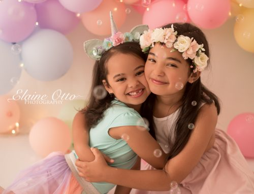Mikayla & Emily | Balloon arch mini-session