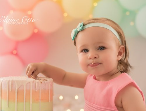 Ayla cake-smash & bubble bath