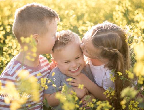 Fincham family | Canola field shoot